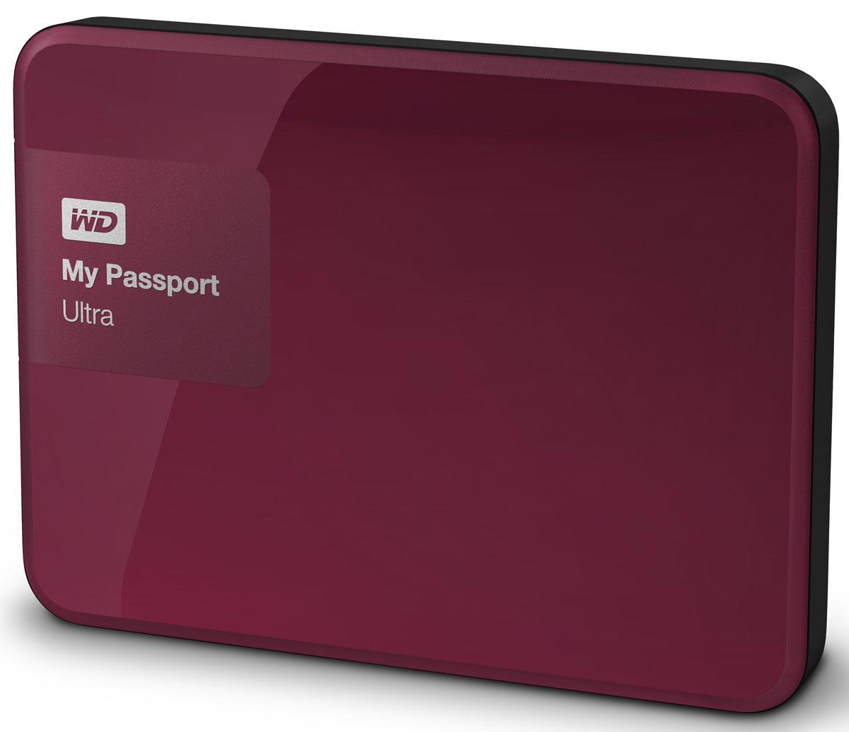 WD My Passport Ultra 1TB, Berry внешний жесткий диск (WDBDDE0010BBY-EEUE)WDBDDE0010BBY-EEUEWD My Passport Ultra New — это портативный накопитель большой емкости, которому вы можете доверить хранение своих личных файлов. Этот накопитель, в котором используются передовые разработки WD в области жестких дисков, комплектуется программой автоматического резервного копирования WD Backup. Многофункциональная программа резервного копирования WD Backup — это одна из самых многофункциональных программ резервного копирования. Она еще понятнее и проще в работе, чем другие, и к тому же использует еще меньше ресурсов компьютера. С ее помощью вы можете сами задать оптимальный график автоматического резервного копирования своих файлов. Если вам требуется дополнительный уровень защиты, то в программе WD Backup можно настроить резервное копирование файлов в облачную службу Dropbox. Для облачного резервного копирования требуется подключение к Интернету и учетная запись Dropbox. Облачные службы могут быть доступны не во всех странах, а также могут быть изменены, прекращены...