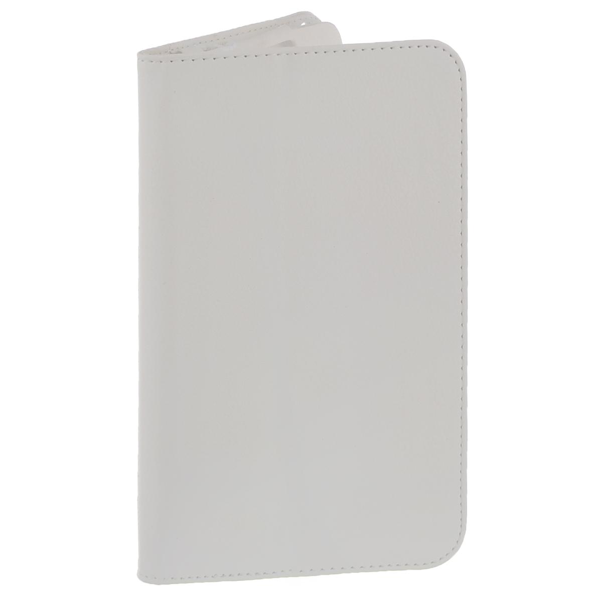 IT Baggage чехол для планшета Lenovo Idea Tab 2 7 A7-30, WhiteITLNA7302-0IT Baggage для Lenovo Idea Tab 2 7 A7-30 - удобный и надежный чехол, который надежно защищает ваше устройство от внешних воздействий, грязи, пыли, брызг. Данный чехол поможет при ударах и падениях, смягчая их, и не позволяя образовываться на корпусе царапинам, потертостям. Кроме того, он будет незаменим при длительной транспортировке устройства. Обеспечивает свободный доступ ко всем разъемам и клавишам планшета.
