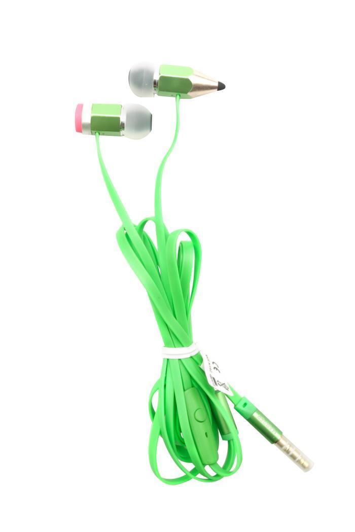 Harper HV-608, Green наушникиHV-608 GreenПодключив Harper HV-608 к своему телефону или планшету вы сможете не только наслаждаться любимыми треками, но еще сможете легко ответить на звонок, не доставая телефон из сумки - просто нажали на кнопку и разговариваете через встроенный микрофон гарнитуры. Кроме функции ответа на вызов, кнопкой осуществляется управление плеером на устройстве. Плоский кабель наушников длиной 120 см устойчив к запутыванию, диапазон частот от 20 Гц до 20 кГц позволяет четко слышать как высокие так и низкие тона звука, а стандартный штекер в 3,5 дюйма позволяет использовать гарнитуру с любым видом техники. Металлический корпус наушников обеспечивает отличную звукоизоляцию и долговременное использование аксессуара.