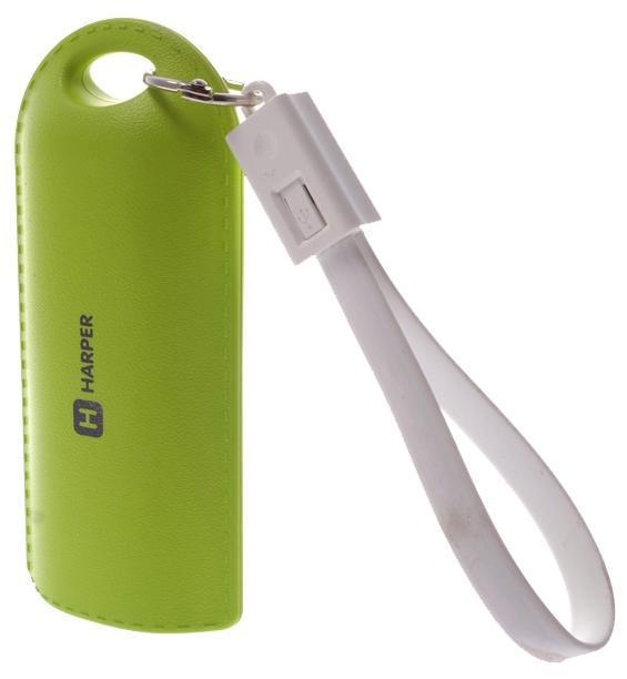 Harper PB-0015, Green внешний аккумуляторPB-0015 greenHarper представляет внешний аккумулятор PB-0015. Универсальный аккумулятор комплектуется кабелем micro USB а также кабелем Lightning для зарядки различных устройств.
