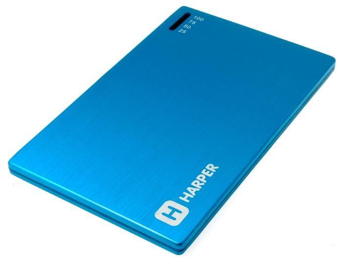 Harper PB-2000, Blue внешний аккумуляторPB-2000 blue