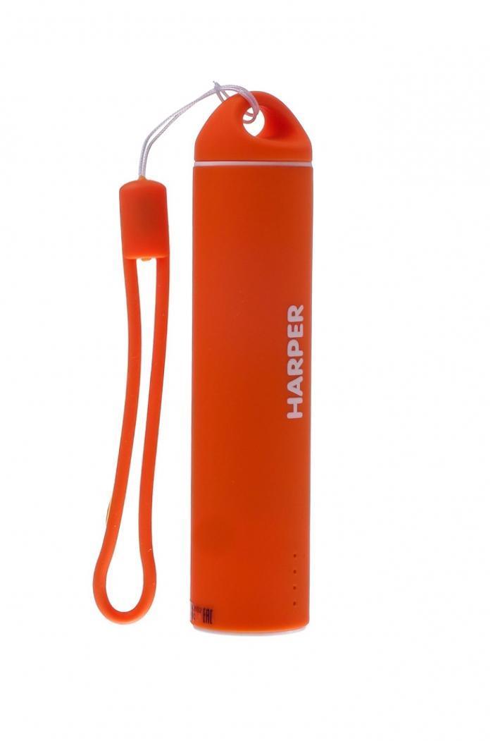 Harper PB-2602, Orange внешний аккумуляторPB-2602 OrangeБудь легким и ярким! Для молодых и энергичных представлен большой выбор вариантов дизайна и ярких цветов для активной жизни. Компактные размеры Harper PB-2602 позволяют без труда носить его как оригинальный аксессуар на сумке или рюкзаке. Размеры аккумулятора существенно меньше размеров стандартного смартфона. При этом, аккумулятор способен полностью зарядить мобильный телефон или смартфон.