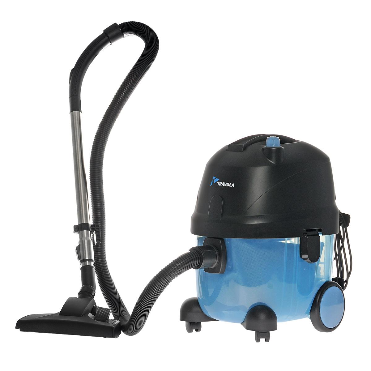 Travola VC-0606 пылесос для влажной и сухой уборки помещенийVC-0606Пылесос Travola VC-0606 предназначен для сухой и влажной уборки помещений. Он имеет высокую мощность всасывания и низкий уровень шума. Пылесос достаточно легкий, но при этом оснащен сравнительно большим пылесборником. Комплект насадок позволит осуществлять полноценную уборку помещений, включая узкие пространства и обивку мебели.