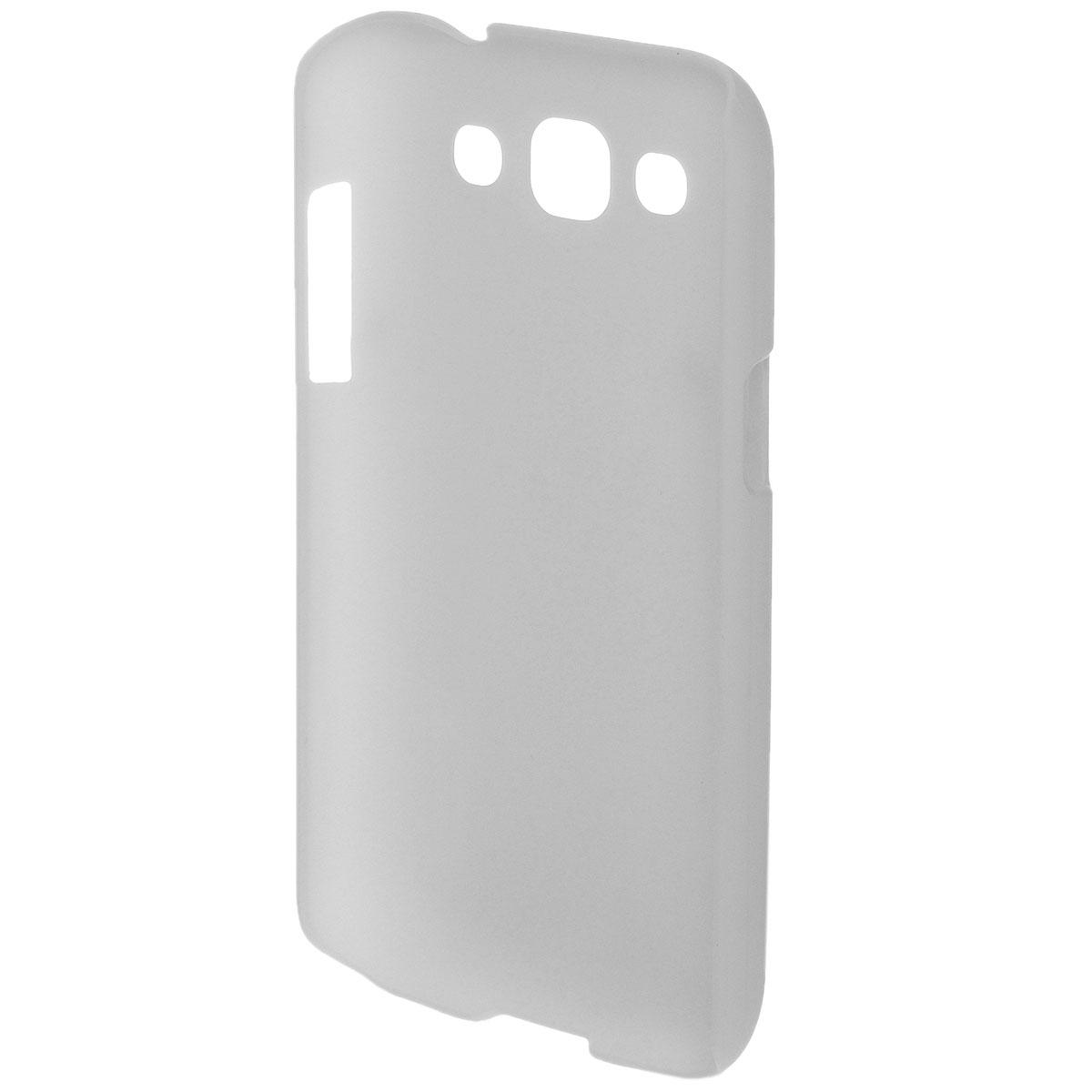 Nillkin Super Frosted Shield чехол для Samsung I8552, WhiteT-N-SI8552-002Чехол Nillkin Super Frosted Shield для Samsung I8552 изготовлен из экологически чистого поликарбоната путем высокотемпературной высокоточной формовки. Обе стороны чехла выполнены в соответствии с самой современной технологией изготовления матовых материалов, устойчивых к оседанию пыли, и покрыты краской, светящейся под воздействием ультрафиолета. Элегантный дизайн, чехол приятен на ощупь. Жесткость чехла предотвращает телефон от повреждений во время транспортировки. Размер чехла точно соответствует размеру телефона с четким соответствием всех функциональных отверстий. Вы можете использовать чехол, как вам будет удобно. Он изготовлен из цельной пластины методом загиба, износостойкий, устойчив к оседанию пыли, не скользит, устойчив к образованию отпечатков, легко чистится. Супертонкий Не скользит в руках