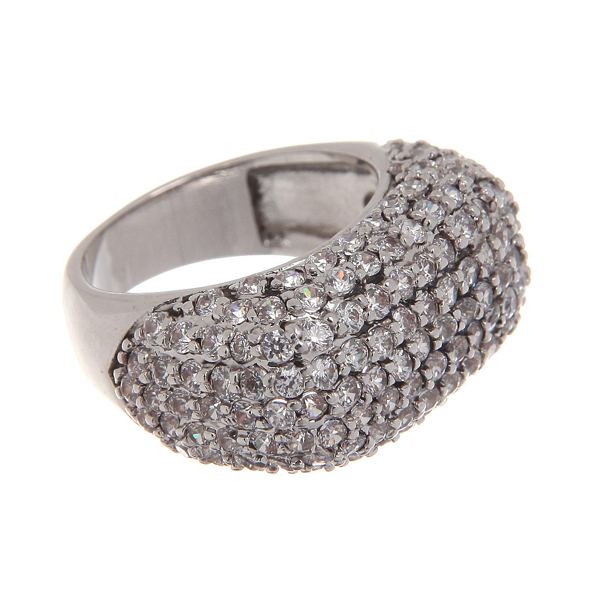 Кольцо Taya, цвет: серебристый. Размер 17. T-B-4379T-B-4379-RING-RHODIUMВеликолепное кольцо Taya выполнено из гипоаллергенного металлического сплава на основе латуни. Изысканное кольцо дополнено россыпью мелких прозрачных кристаллов. Идеальная огранка камней заставляет их сверкать при любом освещении. Кольцо подчеркнет вашу яркую индивидуальность и поможет создать неповторимый образ.