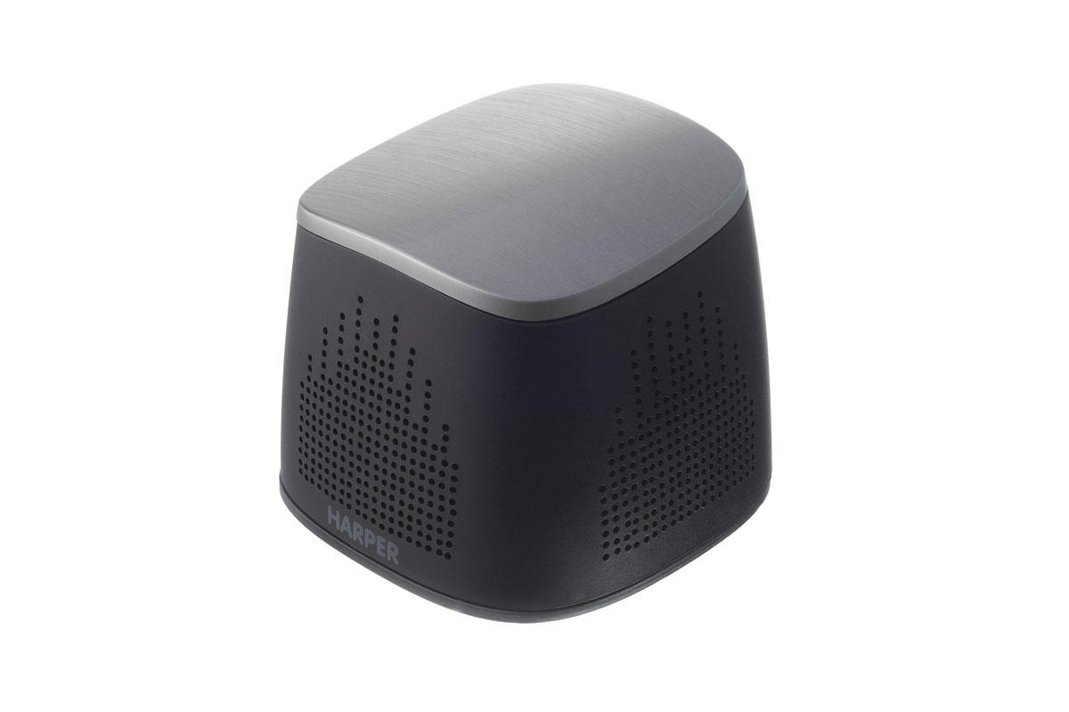 Harper PSPB-022, Black портативная колонкаPSPB-022 blackHarper PSPB-022 - это универсальная портативная Bluetooth колонка, оснащенная встроенным Power Bank. Данная мини-колонка может стать вашим неразлучным спутником в туристических походах, на пикниках и отдыхе на природе. Она способна воспроизводить музыку с вашего мобильного устройства, даже находясь на удалении 10 метров от передатчика. Благодаря встроенному Power Bank емкостью 2000мАч вы можете не бояться, что во время воспроизведения музыки ваше мультимедийное устройство разрядится. Разработчики при создании данного устройства использовали только высококачественные материалы, благодаря этому Harper PSPB-022 обладает высокой прочностью, а также небольшим весом. Все это в сумме с компактными размерами превращает данную модель портативной колонки в идеальное решение для организации музыкального сопровождения. Время работы: до 7 часов Мощность: 3 Вт Максимальная дальность работы: 10 метров Встроенный микрофон: да AUX вход: да Зарядное напряжение: DC 5B...