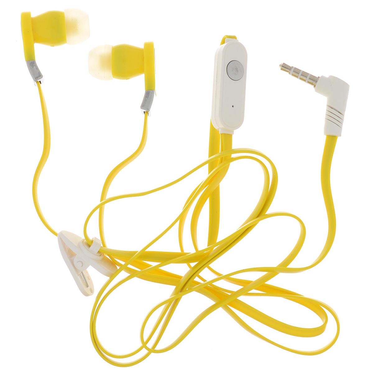 Harper HV-103, Yellow наушникиHV-103 yellowHarper HV-103 - компактные и недорогие внутриканальные наушники с функцией гарнитуры. Кабель длиной 1,2 метра идеально подходит для использования на улице. Встроенный пульт и микрофон предназначен для быстрого переключения между музыкой и вызовами. L-образный штекер для прочности и долговечности кабеля. В комплект входят мягкие силиконовые накладки 3 размеров для максимального комфорта.