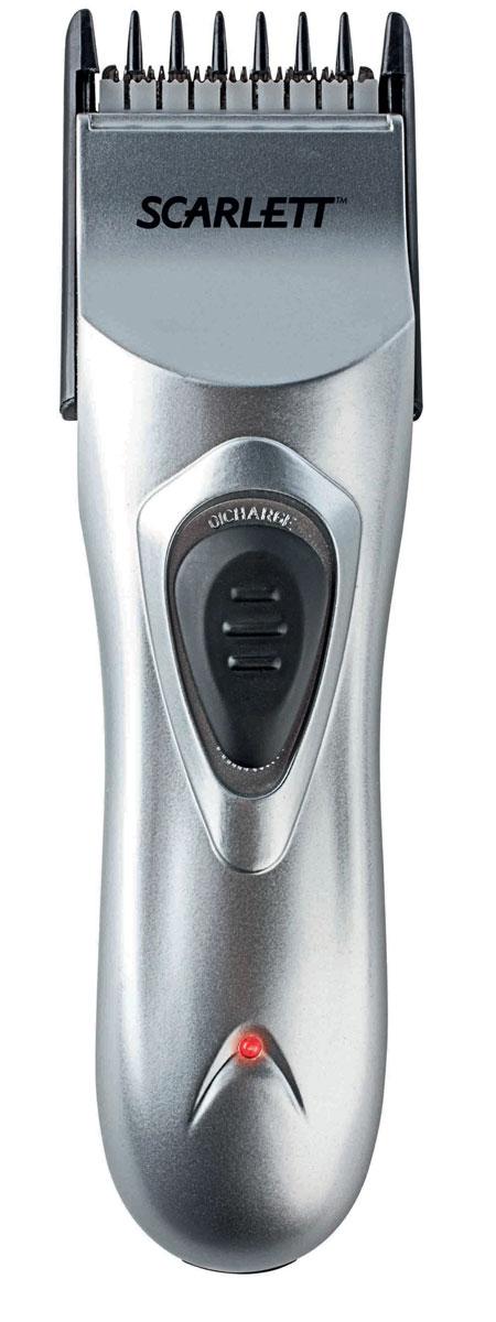 Scarlett SC-160, Silver машинка для стрижки волос