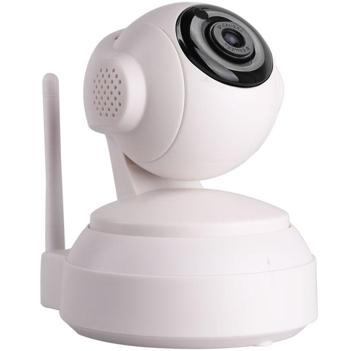 iVUE IV2405P IP камера видеонаблюдения4650067650739Беспроводная WiFi IP камера iVUE IV2405P имеет формат сжатия Н.264 и разрешение 1MPX, что делает возможным высококачественную передачу видео и аудио сигнала в сеть. Камера имеет ИК подсветку в темное время суток, ИК фильтр для улучшения качества изображения, аудио вход и выход, встроенные микрофон и динамики, наклон/поворот, встроенный датчик движения. Кроме того, камера совместима со смартфонами iPhone, Android и Blackberry, а так же поддерживает просмотр через интернет, используя стандартный браузер или специальную программу CMS. Наличие слота для SD карты позволяет использовать ее для записи при срабатывании детектора движения. . С помощью этой камеры можно удалённо наблюдать за детьми в квартире, за своим домом, за работой офиса или магазина. Различные стандарты сжатия видео нужны для оптимизации пропускной способности сети и объёма жёстких дисков за счёт уменьшения размера файлов видеозаписей. Новейший стандарт H.264 значительно повышает эффективность сжатия...