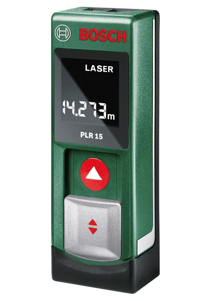 Лазерный дальномер Bosch PLR 15 + Детектор Bosch PMD 7PLR 15 + PMD 7Bosch PMD 7 - это простой способ определения электропроводки и металлических объектов, спрятанных в поверхности, которую необходимо просверлить. Делает измерение проще простого. Интуитивно понятное использование благодаря простому управлению одной кнопкой. Функция Hold для сохранения результатов последнего измерения/