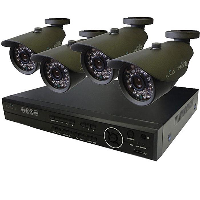 iVUE 6804VK-CI25B-70A Стандарт 4 Дача комплект видеонаблюдения ( 4650067650616 )