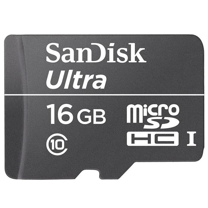 SanDisk Ultra microSDHC Class10 30MB/s 16GB карта памяти