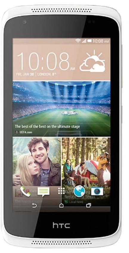 HTC Desire 326G, Terra White99HAFB039-00УДОБСТВО И КОМФОРТ Смартфон Desire 326G Dual SIM – это отличная камера, элегантный дизайн корпуса, выполненного в двух тонах, и тонко настроенное программное обеспечение HTC. Все самое необходимое и ничего лишнего. СОХРАНИТЕ ЛУЧШИЕ МОМЕНТЫ Камеры с технологией BSI – основная 8 Мп с автоматической фокусировкой и режимом серийной съемки и фронтальная 2 Мп – способны делать фотоснимки в самых различных условиях освещенности. Основная камера снимает видео с разрешением 1080p, а фронтальная камера – с разрешением 720p. СОВЕРШЕННЫЙ ДИЗАЙН Гладкий матовый корпус выполнен в двух тонах. Дизайн характеризуют закругленные края и элегантные линии, ставшие визитной карточкой смартфонов HTC. Устройство повторяет контуры руки и обеспечивает максимальный комфорт. ИННОВАЦИОННОЕ И УДОБНОЕ УСТРОЙСТВО HTC Desire 326G Dual SIM оснащен всеми самыми необходимыми функциями и инструментами. С HTC BlinkFeed вы будете в курсе последних новостей из социальных сетей, с информационных порталов,...