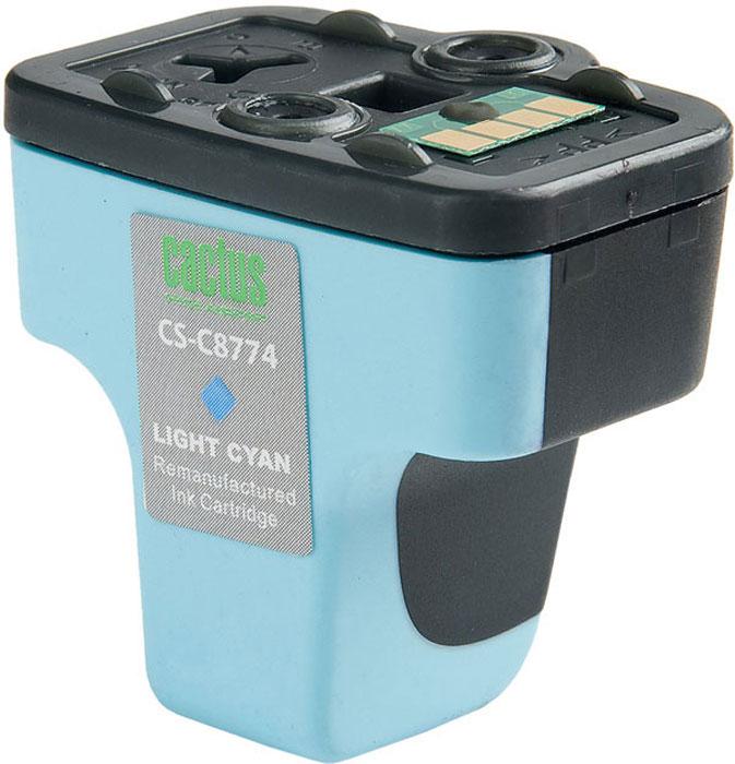 Cactus CS-C8774, Light Cyan струйный картридж для HP PhotoSmart 3213/3313/8253/C5183/C6183/C6283CS-C8774Картридж Cactus CS-C8774 для струйных принтеров HP PhotoSmart. Расходные материалы Cactus для печати максимизируют характеристики принтера. Обеспечивают повышенную четкость изображения и плавность переходов оттенков и полутонов, позволяют отображать мельчайшие детали изображения. Обеспечивают надежное качество печати.