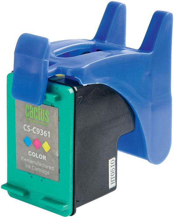 Cactus CS-C9361, Color струйный картридж для HP DeskJet 5443/D4163; OfficeJet 6313; PhotoSmart 2573/C3183CS-C9361Картридж Cactus CS-C9361 для струйных принтеров HP. Расходные материалы Cactus для печати максимизируют характеристики принтера. Обеспечивают повышенную четкость изображения и плавность переходов оттенков и полутонов, позволяют отображать мельчайшие детали изображения. Обеспечивают надежное качество печати.