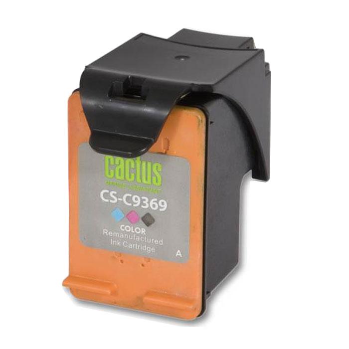 Cactus CS-C9369, Color струйный картридж для HP DJ 5743/6543/6843CS-C9369Картридж Cactus CS-C9369 для струйных принтеров HP. Расходные материалы Cactus для печати максимизируют характеристики принтера. Обеспечивают повышенную четкость изображения и плавность переходов оттенков и полутонов, позволяют отображать мельчайшие детали изображения. Обеспечивают надежное качество печати.