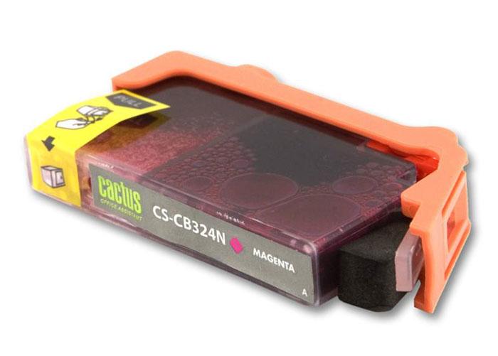Cactus CS-CB324N, Magenta струйный картридж для HP PhotoSmart B8553/C5383/C6383CS-CB324NКартридж Cactus CS-CB324N для струйных принтеров HP PhotoSmart. Расходные материалы Cactus для печати максимизируют характеристики принтера. Обеспечивают повышенную четкость изображения и плавность переходов оттенков и полутонов, позволяют отображать мельчайшие детали изображения. Обеспечивают надежное качество печати.