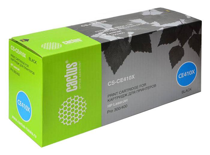Cactus CS-CE410X, Black тонер-картридж для HP CLJ Pro 300 Color M351 /Pro 400 Color M451CS-CE410XКартридж Cactus CS-CE410X для лазерных принтеров HP. Расходные материалы Cactus для лазерной печати максимизируют характеристики принтера. Обеспечивают повышенную чёткость чёрного текста и плавность переходов оттенков серого цвета и полутонов, позволяют отображать мельчайшие детали изображения. Обеспечивают надежное качество печати.
