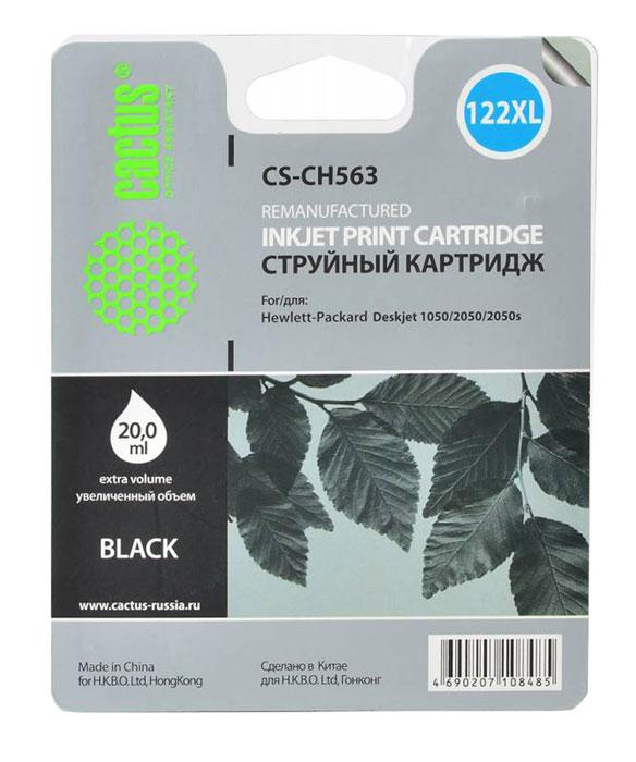 Cactus CS-CH563, Black струйный картридж для HP DeskJet 1050/2050/2050sCS-CH563Картридж Cactus CS-CH563 для струйных принтеров HP. Расходные материалы Cactus для монохромной печати максимизируют характеристики принтера. Обеспечивают повышенную чёткость чёрного текста и плавность переходов оттенков серого цвета и полутонов, позволяют отображать мельчайшие детали изображения. Обеспечивают надежное качество печати.