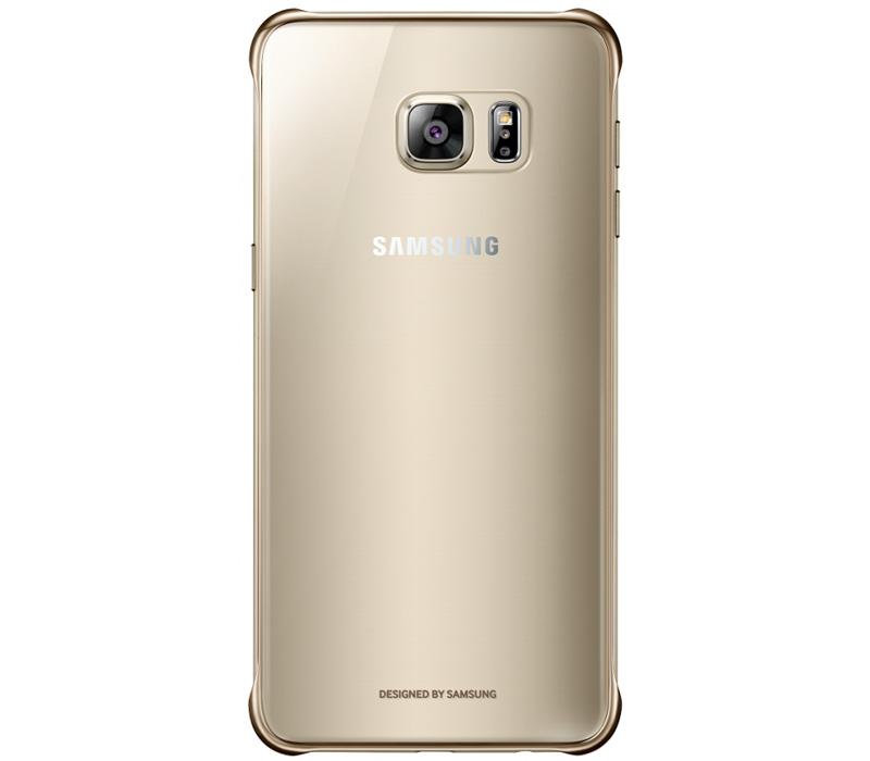 Samsung ClearCover чехол для Galaxy S6 Edge+, GoldEF-QG928CFEGRUОригинальный чехол Samsung ClearCover для Galaxy S6 Edge+ надежно защитит ваш смартфон при случайном падении. Чехол гармонично смотрится, практически не увеличивая размеров устройства. Прозрачная тонированная задняя крышка и золотые уголки-бамперы смотрятся очень стильно.