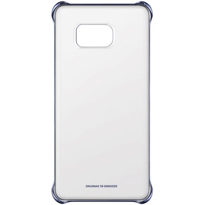Samsung EF-QG928C Clear Cover чехол для Galaxy S6 Edge+, Black