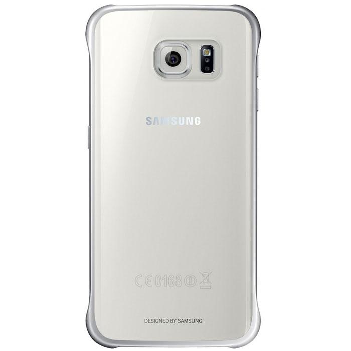 Samsung EF-QG928C Clear Cover чехол для Galaxy S6 Edge+, SilverEF-QG928CSEGRUОригинальный чехол Samsung ClearCover для Galaxy S6 Edge+ надежно защитит ваш смартфон при случайном падении. Чехол гармонично смотрится, практически не увеличивая размеров устройства. Прозрачная тонированная задняя крышка и серебристые уголки-бамперы смотрятся очень стильно.