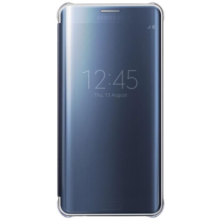 Samsung EF-ZG928C Clear View чехол для Galaxy S6 Edge+, BlackEF-ZG928CBEGRUЧехол Samsung ClearView для Galaxy S6 Edge+ идеально сочетается со стильным глянцевым корпусом смартфона. Он обеспечивает доступ к необходимой информации на экране гаджета. Вы можете принимать или отклонять звонки, смотреть время и дату и получать различные сообщения даже когда чехол закрыт. Флип откидывается влево. Samsung ClearView обеспечивает надежную и долговременную защиту вашего Galaxy S6 Edge+ от царапин, ударов и грязи.