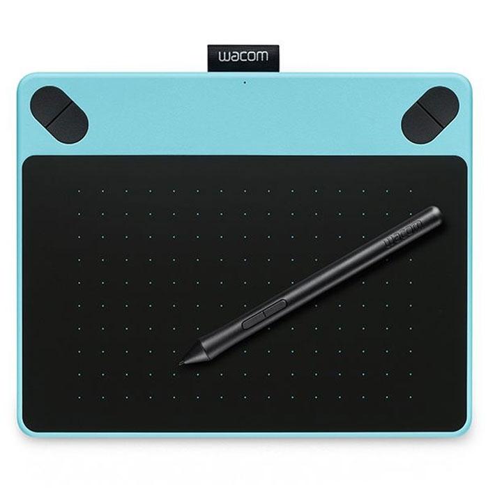 Wacom Intuos Art PT S, Blue графический планшет (CTH-490AB-N)CTH-490AB-NУ вас уже имеются художественные навыки? Продемонстрируйте их миру с помощью Intuos Art. Работайте над эскизами, раскрашивайте, создавайте дизайны и редактируйте с использованием чувствительного к нажатию пера на цифровом холсте. Творите, создавая естественные штрихи красками, пастелью, чернилами, угольными карандашами и другими инструментами. От концепции до готового произведения - Intuos Art в вашем распоряжении. Intuos Art поставляется в комплекте со всеми необходимыми инструментами, службами и учебниками для создания иллюстраций. Первые шаги не вызовут у вас никаких трудностей - перо ведет себя точно так же, как и обычные кисти, маркеры и карандаши, к которым вы привыкли. Наконечник пера чувствителен к 1024 уровням нажима Максимальная высота считывания пера: 16 мм Поддерживает технологию multi-touch жестов для прокрутки, масштабирования, вращения и т.п. Эргономичное перо без батареек с двумя кнопками Имитирующая бумагу...