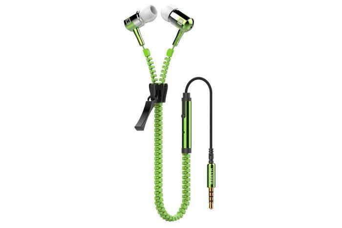 Harper HV-503, Green наушникиH00000051Металические наушники. Состоят из сбалансированных арматурных динамиков. Мощный и стильный дизайн наушников поставляется с высоко прочным тянущемся кабелем. Кабель совмещенный с молниец длиной 1,2 метра идеально подходит для использования на улице Встроенный пульт и микрофон для быстрого переключения между музыкой и вызовами Мягкие силиконовые накладки 3 размеров для максимального комфорта