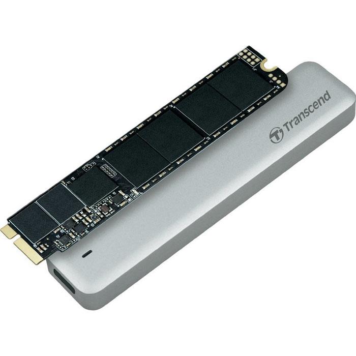 Transcend JetDrive 520 480GB SSD-накопитель для MacBook Air 11/13TS480GJDM520Твердотельный накопитель Transcend JetDrive 520 можно установить на компьютеры MacBook Air, что позволит не только ускорить работу компьютера, но и расширить объем доступной дисковой памяти. Теперь не нужно бессмысленно перемещать файлы в тщетных попытках освободить немного свободного места на диске. В комплекты Transcend JetDrive входят твердотельные накопители объемом до 960 ГБ. Установив JetDrive в свой компьютер Mac, вы получаете столь необходимое дисковое пространство для хранения всей вашей музыки, видео и фотографий. JetDrive отличается надежностью и высокой скоростью передачи данных, которая значительно превосходит показатели стандартных твердотельных накопителей, установленных в Mac. Накопители этой серии обеспечат максимальную производительность более чем достаточную для выполнения большинства повседневных задач, таких как просмотр веб-сайтов, игры или работа с несколькими приложениями одновременно. В комплект Transcend JetDrive...