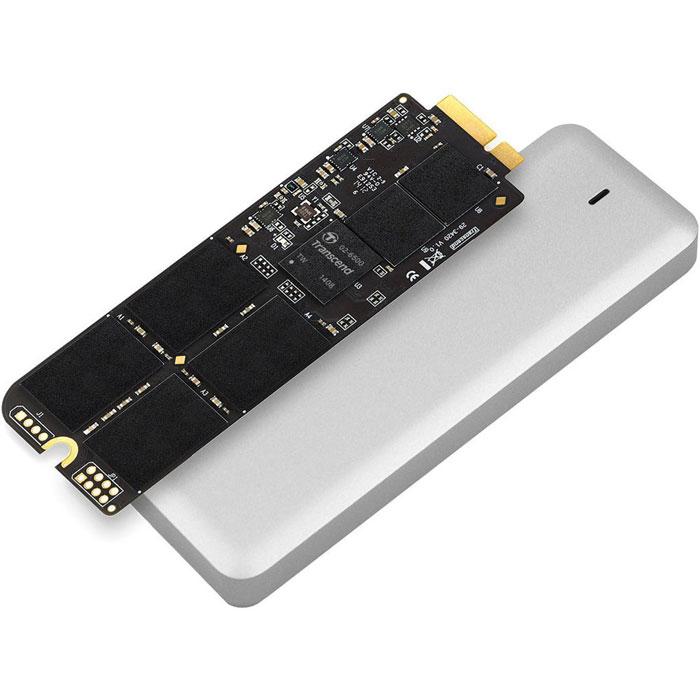 Transcend JetDrive 725 480GB SSD-накопитель для MacBook Pro (Retina) 15TS480GJDM725Твердотельный накопитель Transcend JetDrive 725 можно установить на компьютеры MacBook Pro (Retina), что позволит не только ускорить работу компьютера, но и расширить объем доступной дисковой памяти. Теперь не нужно бессмысленно перемещать файлы в тщетных попытках освободить немного свободного места на диске. В комплекты Transcend JetDrive входят твердотельные накопители объемом до 960 ГБ. Установив JetDrive в свой компьютер Mac, вы получаете столь необходимое дисковое пространство для хранения всей вашей музыки, видео и фотографий. JetDrive отличается надежностью и высокой скоростью передачи данных, которая значительно превосходит показатели стандартных твердотельных накопителей, установленных в Mac. Накопители этой серии обеспечат максимальную производительность более чем достаточную для выполнения большинства повседневных задач, таких как просмотр веб-сайтов, игры или работа с несколькими приложениями одновременно. В комплект Transcend...