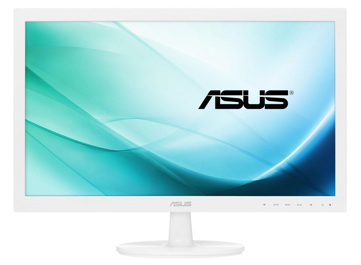 Asus VS229NA-W монитор90LME9201Q02211C-Asus VS229NA-W - ЖК монитор со светодиодной подсветкой и высокой контрастностью. Помимо великолепного качества изображения он может похвастать прекрасным дизайном корпуса и обладает изящной, надежной подставкой. Для продуктивной работы в данной модели реализована функция виртуальной линейки QuickFit. Благодаря технологии ASCR, которая динамически изменяет яркость подсветки в зависимости от текущего изображения, контрастность данного монитора достигает фантастического уровня - 80 000 000:1! Данный монитор обладает разрешением 1920x1080 и, таким образом, поддерживает формат видео Full-HD 1080p. Asus VS229NA-W обладает широкими углами обзора - 178 градусов как по горизонтали, так и по вертикали. Благодаря этому изображение на его экране практически не претерпевает каких-либо искажений цветопередачи при изменении угла, под которым пользователь смотрит на экран. Эксклюзивная технология Splendid Video Intelligence позволяет быстро настраивать...
