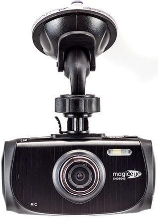 Gmini MagicEye SHD7045 автомобильный видеорегистраторАК-00000696Gmini MagicEye SHD7045 - это видеорегистратор, отличающийся прекрасными функциональными характеристиками, которые в сочетании компактным и удобным дизайном и высоким качеством видеозаписи делает устройство надежным, способным стать незаменимым помощником для любого автомобилиста. Диагональ дисплея составляет 2.7 дюйма, это позволяет просматривать отснятый материал, с целью экономии памяти съемного накопителя, а также изменять угол съемки во время движения. Файлы сохраняются на карте памяти формата microSD, объем которой может составлять от 4 до 32 Гб. Максимальное разрешение видеосъемки достигает разрешения 2560x1080p. Угол обзора устройства может составлять до 170 градусов; это позволяет охватить значительное дорожное пространство со всеми важными нюансами. В совокупности с видеосенсором 4 Мп эти показатели обеспечивают разборчивое и понятное изображение. Питание производится от бортовой сети автомобиля, но дополнительно модель оснащена перезаряжаемым аккумулятором, емкостью...