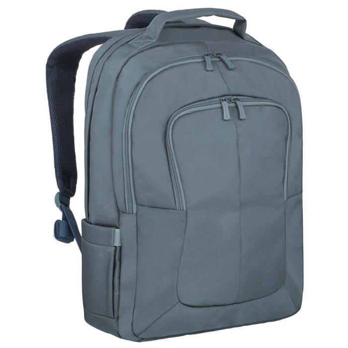 Riva 8460 рюкзак для ноутбука 17, AquamarineRivaCase 8460 aquamarineМногофункциональный рюкзак Riva 8460 для ноутбука до 17.3 идеально подходит для деловых поездок и туристических путешествий. Он изготовлен из плотного синтетического материала и имеет утолщенные стенки для лучшей защиты ноутбука от случайных ударов и царапин, а также от пыли и влаги. Основное отделение для ноутбука с вертикальной загрузкой имеет мягкие стенки и ремень для надежной фиксации ноутбука до 17. Просторная секция на молнии предназначена для хранения книг и документов. В дополнительное внутреннее отделение вы можете положить планшет до 10.1. Два внешних передних кармана на молнии служат для хранения аксессуаров, зарядного устройства и визитных карт, авторучек, смартфона. Двойная застежка молния обеспечивает удобный доступ к устройству. Мягкая ручка для переноски и наплечные ремни со смягчающими подкладками помогут чувствовать себя комфортно в самом долгом путешествии. Сетчатый материал задней стенки рюкзака обеспечивает циркуляцию воздуха для...