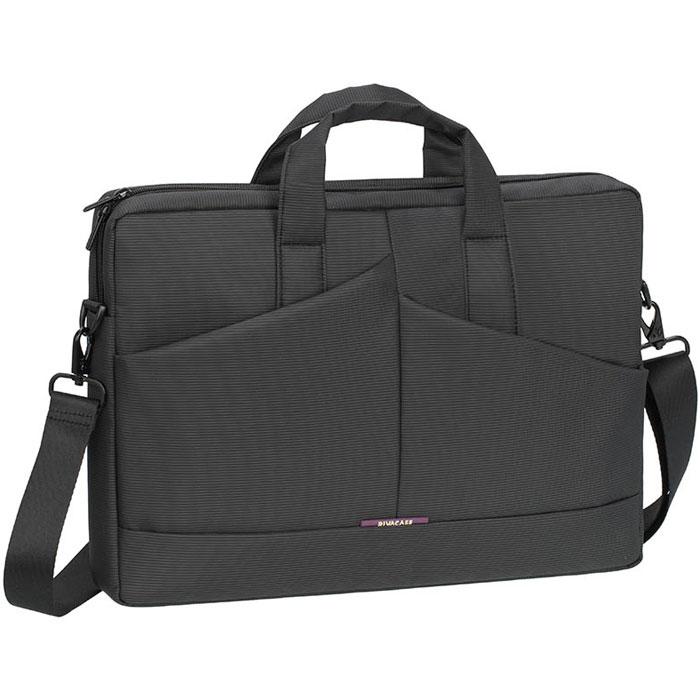 "Riva 8731 сумка для ноутбука 15,6"", Grey"