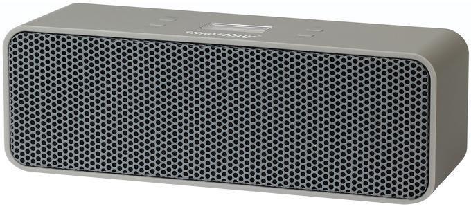 SmartBuy Muse SBS-3510, Grey портативная Bluetooth-колонкаSBS-3510Лучшее решение для беспроводной акустической системы. Поддерживается всеми современными мобильными устройствами c Bluetooth: телефон, планшет, ноутбук. Мощность, функциональность и низкое энергопотребление акустической системы Smartbuy FOP — очередной прорыв Smartbuy! Благодаря встроенному микрофону и современным технологичным модулям Smartbuy FOP не только воспроизводит аудио-сигнал, но и передает его на телефон. При входящем звонке устройство моментально переходит в режим телефона. Корпус из прорезиненного Soft-touchпластика — приятно держать в руках, лучше звук! Компактность — размер колонки позволяет брать ее с собой повсюду!