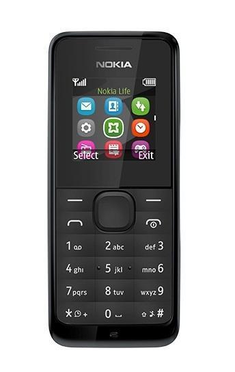 Nokia 105 DS, Black ( A00025708 )