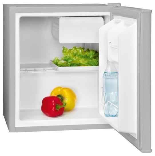 Bomann KB 389 A++/43L, Silver холодильник