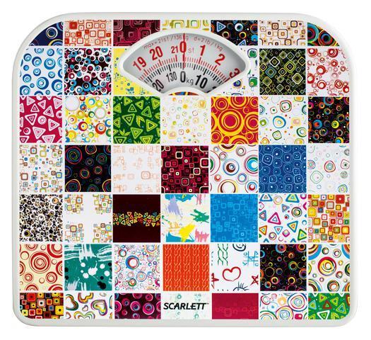Scarlett SC-BS33M041 Mosaic весы напольные механическиеSC-BS33M041