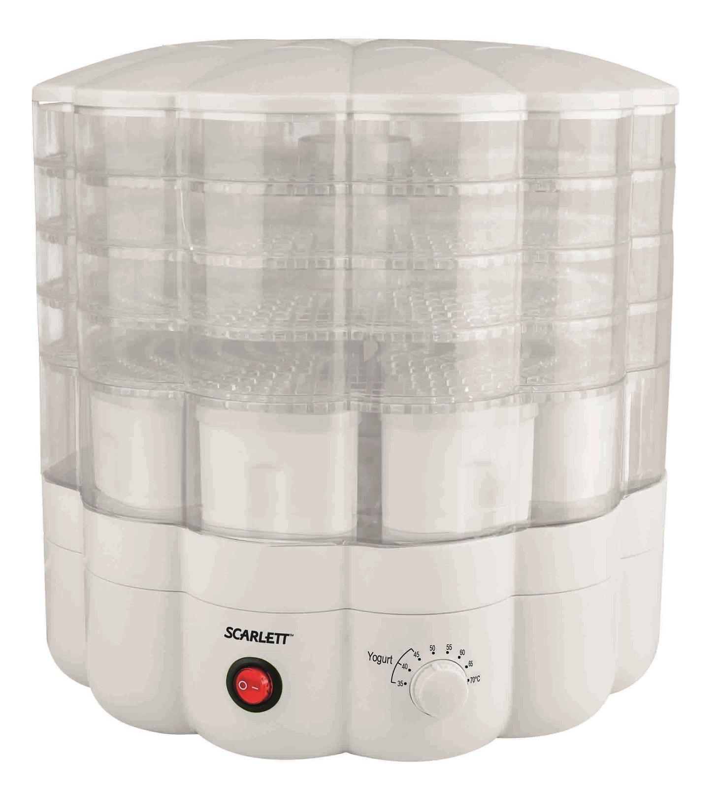Scarlett SC-FD421001, White сушилка для продуктовSC-FD421001