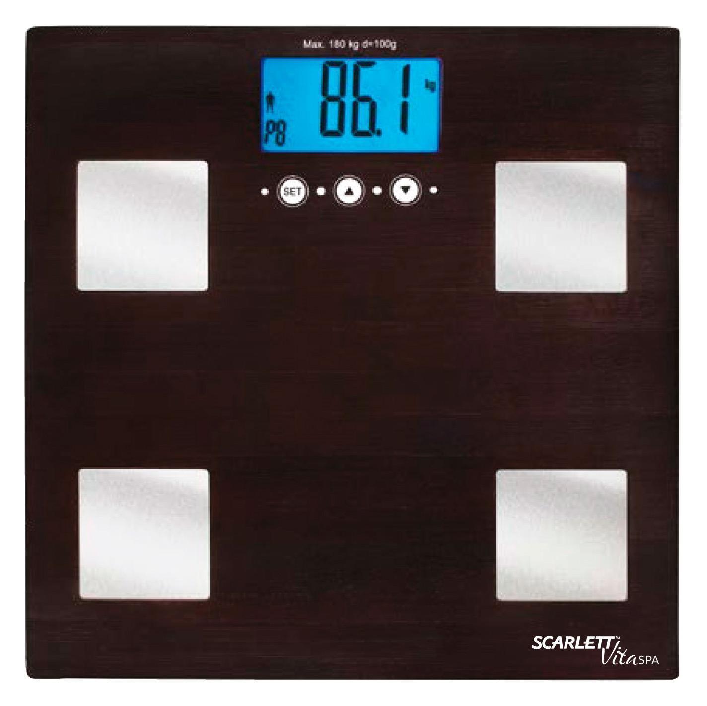 Scarlett SC-BS33ED78 Venge весы напольные электронныеSC-BS33ED78