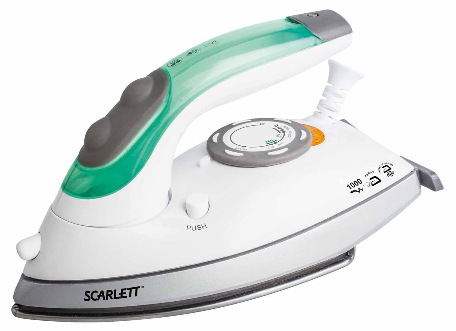 Scarlett SC-SI30T01, White Green утюг