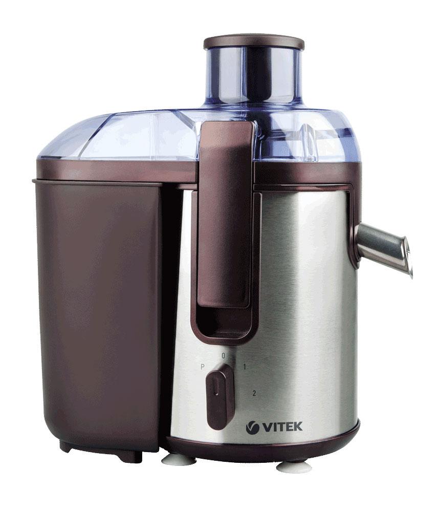 Vitek VT-3655(BN) соковыжималкаVT-3655(BN)3655(BN) Соковыжималка VITEK 850 Вт,2 скорости,режим Пульс,ёмкость для жмыха 1.3 л мл.