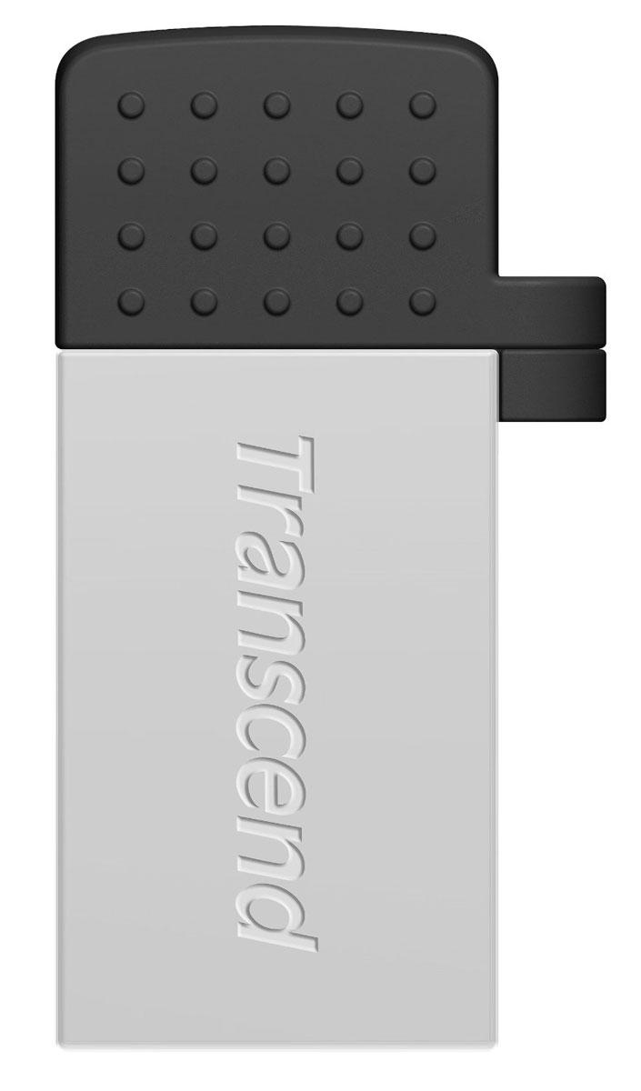 Transcend JetFlash 380 32GB, Silver USB-накопительTS32GJF380SФлэш-накопитель Transcend JetFlash 380 USB OTG разработан, чтобы преобразовать способ переноса и обмена персональными коллекциями медиафайлов. Более того, бесплатное приложение Transcend Elite позволит просматривать содержимое накопителя, а также осуществлять резервное копирование фотографий, видеозаписей, документов и других важных для пользователя файлов, которые хранятся в памяти смартфона или планшета. Два интерфейса доступа: С одной стороны находится интерфейс micro USB, который позволяет подключать флэш-накопитель к мобильным устройствам. С другой стороны, JetFlash 380 оснащен и полноразмерным USB-разъемом, который пригодится для обмена файлами с компьютерами, оборудованными обычными портами USB. Передача данных в любое время и в любом месте: JetFlash 380 позволяет пользователям перемещать или копировать файлы с/на карту памяти своего мобильного устройства с помощью постоянной USB связи, которая быстрее и надёжнее чем Wi-Fi,...