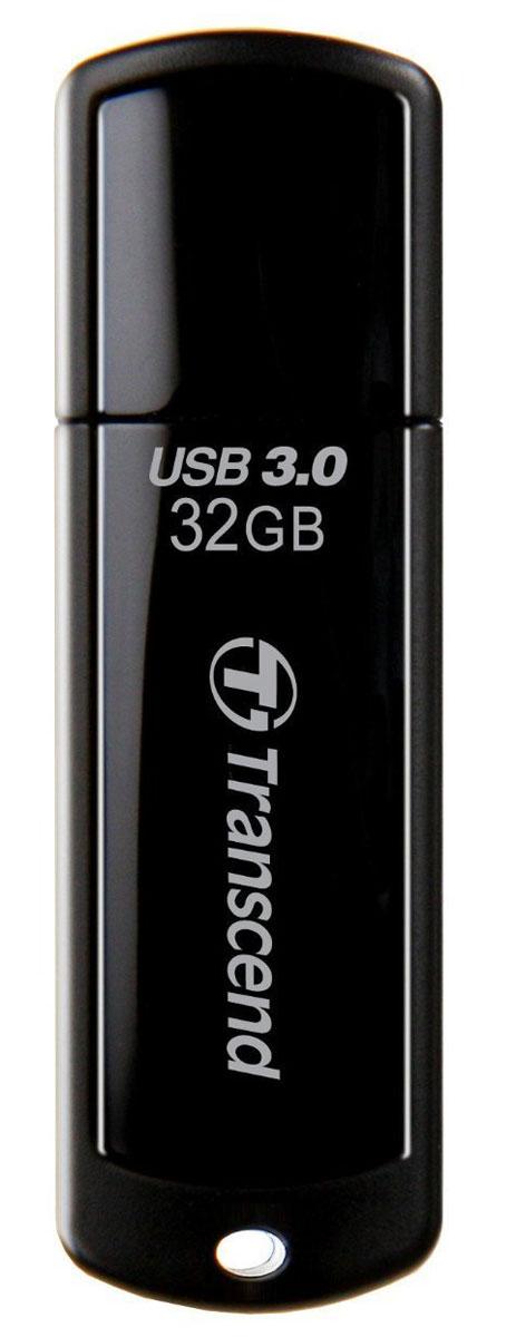Transcend JetFlash 700 USB3.0 32GB (TS32GJF700) USB-накопительTS32GJF700Те, кто всегда ценил в вещах качество, оценят элегантный и выразительный дизайн USB-накопителя Transcend JetFlash 700. Утончённый вид JetFlash 700 в чёрном исполнении соединил в себе стойкость и лёгкость пластикового корпуса, который не только красиво выглядит, но и надёжно защищает важную информацию, куда бы вы не пошли. Полная совместимость с SuperSpeed USB 3.0 и Hi-Speed USB 2.0 Прочный корпус и гладкая поверхность Эксклюзивное программное обеспечение для управления данными Transcend Elite