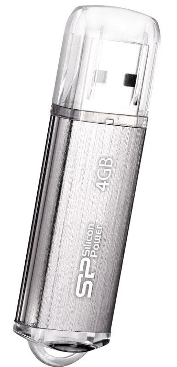 Silicon Power Ultima II l-Series 4GB, Silver USB-накопитель