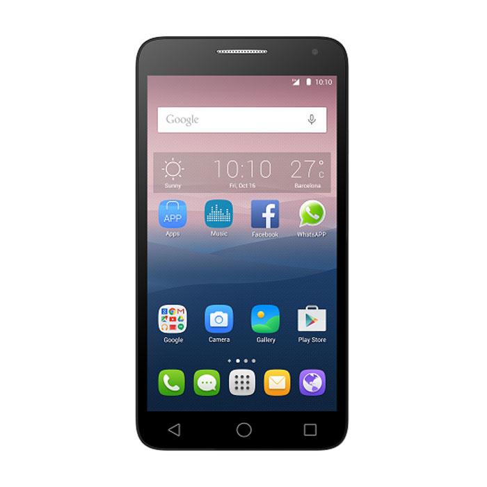Alcatel OT-5025D Pop 3, Gold5025D-2BALRU1Alcatel OT-5025D Pop 3 - стильный и яркий смартфон с современной начинкой и множеством актуальных функций. Наслаждайтесь большим и ярким сенсорным дисплеем с диагональю 5,5 дюймов и разрешением 1280x720. С ним вам будет комфортно заниматься интернет-серфингом, а также просматривать различный контент, будь то фильмы, видеоролики или игры. Мощный четырехядерный процессор обеспечивает быструю и стабильную работу любых ресурсоемких приложений, даже в режиме многозадачности. Делайте оригинальные снимки и видео с основной 8-мегапиксельной камерой с распознаванием лиц и различными фильтрами. С фронтальной камерой вы можете делать превосходные селфи и осуществлять видеозвонки.