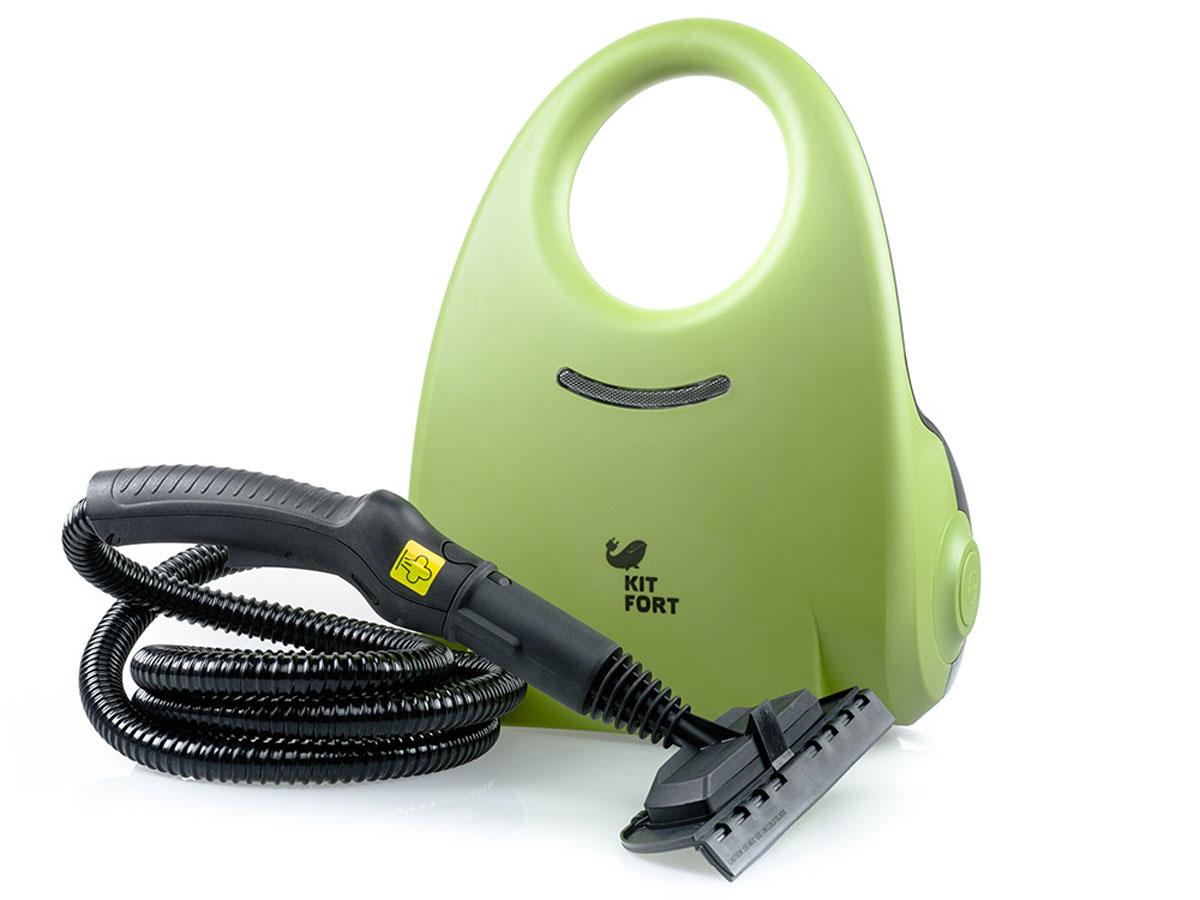 Kitfort KT-904 пароочистительKT-904Пароочиститель - многофункциональный аппарат, способный заменить моющий пылесос, дезинфектор, стеклоочиститель, отпариватель для тканей. Используя силу горячего пара, пароочиститель великолепно очищает любые поверхности и обеспечивает деликатную глажку вещей. Прибор очень удобен в использовании, и работа с ним не требует от пользователя каких-то особых навыков и умений. Устройство безопасно для здоровья человека и не приносит вреда окружающей среде. Горячий пар под давлением может удалять грязь, жир и известковые отложения с различных поверхностей, убивать патогенные микроорганизмы, бактерии и домашних клещей, которые могут вызывать аллергические реакции и астму. Сухой пар быстро испаряется, не оставляя следов влаги на поверхности. При очистке поверхностей паром не требуется применения химических чистящих средств, что улучшает экологию дома, и также позволяет сэкономить на покупке чистящих средств. Kitfort КТ-904 отличается большой мощностью и высоким рабочим давлением....