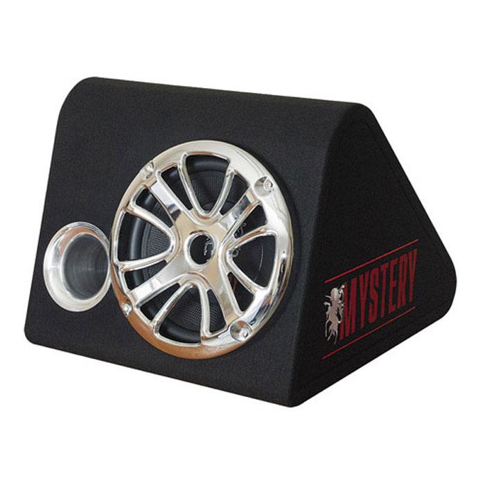 Mystery MBV 251 автомобильный сабвуфер4897020601517Mystery MBV 251 добавит ярких басов в звучание вашей автомобильной аудиосистемы. Этот пассивный корпусный сабвуфер обладает превосходными акустическими характеристиками. Он способен работать в частотном диапазоне от 25 Гц до 800 Гц, имеет чувствительность 93 дБ и обладает мощностью в 350 Вт. Высококачественный корпус из МДФ Покрытие из черного карпета Хромированная решетка Подвес из EPDM Диффузор инжекционного литья Стронциевый магнит 45 унций 2 звуковая катушка ASV Позолоченные разъемы