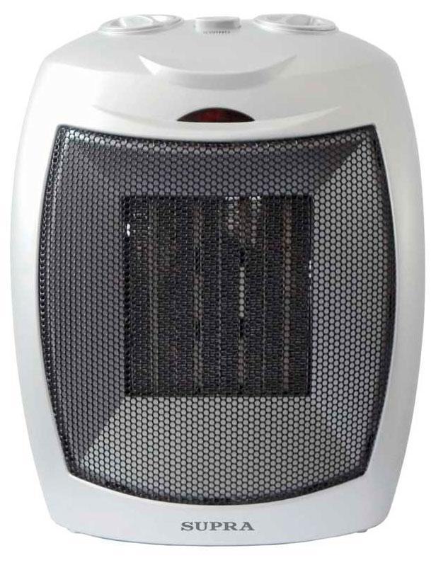 Supra TVS-PN15, White тепловентиляторTVS-PN15 whiteтепловентилятор керамический, мощность 1.5 кВт, функция теплого и холодного обдува, режимы 7500/1500, регулируемый термостат, защита от опрокидывания, защита от перегрева
